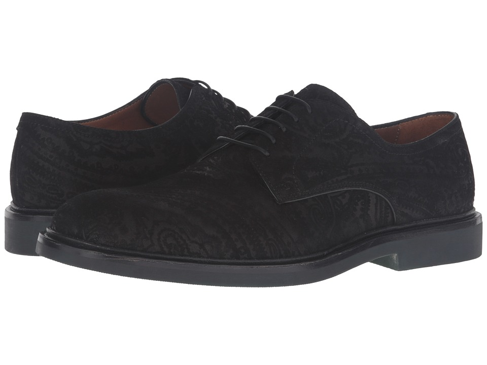 Etro - Tuareg Derby (Black) Men's Shoes