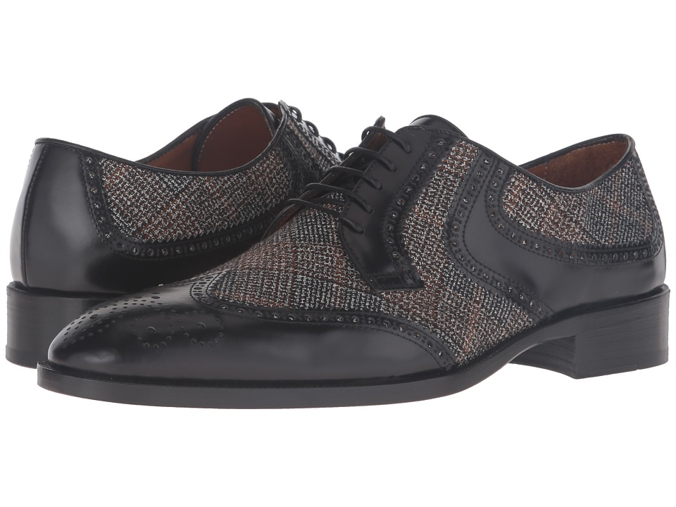 Etro - Cocooning Oxford (Black) Men's Lace up casual Shoes