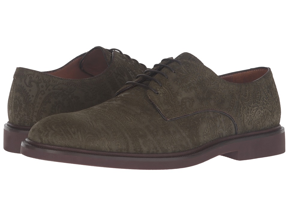 Etro - Tuareg Derby (Green) Men's Shoes