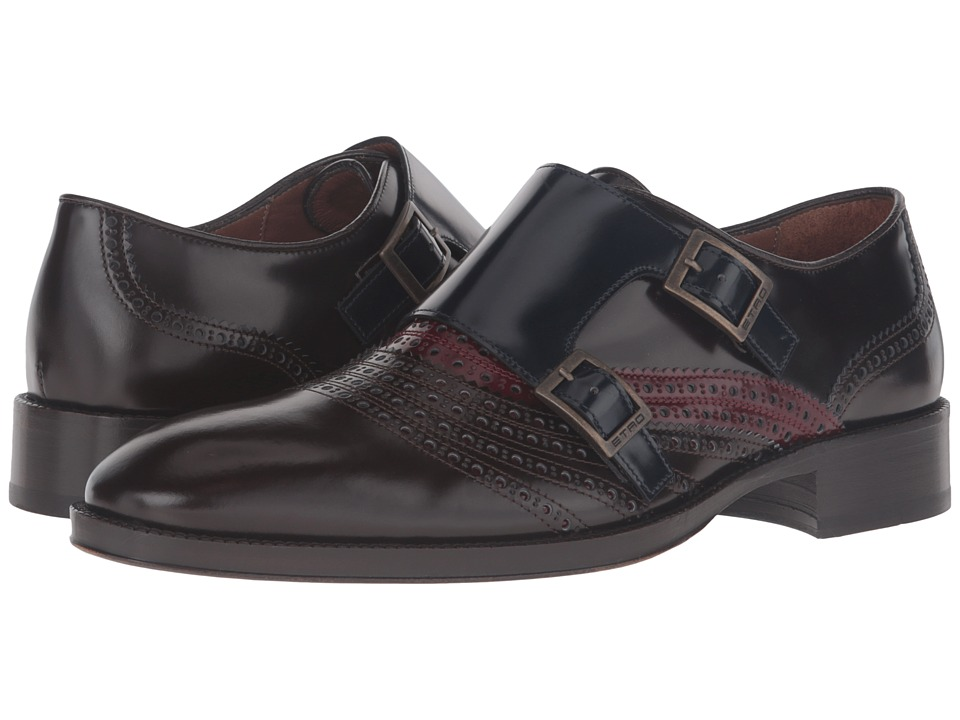 Etro - Arnica Double Monk Strap (Multi) Men's Monkstrap Shoes