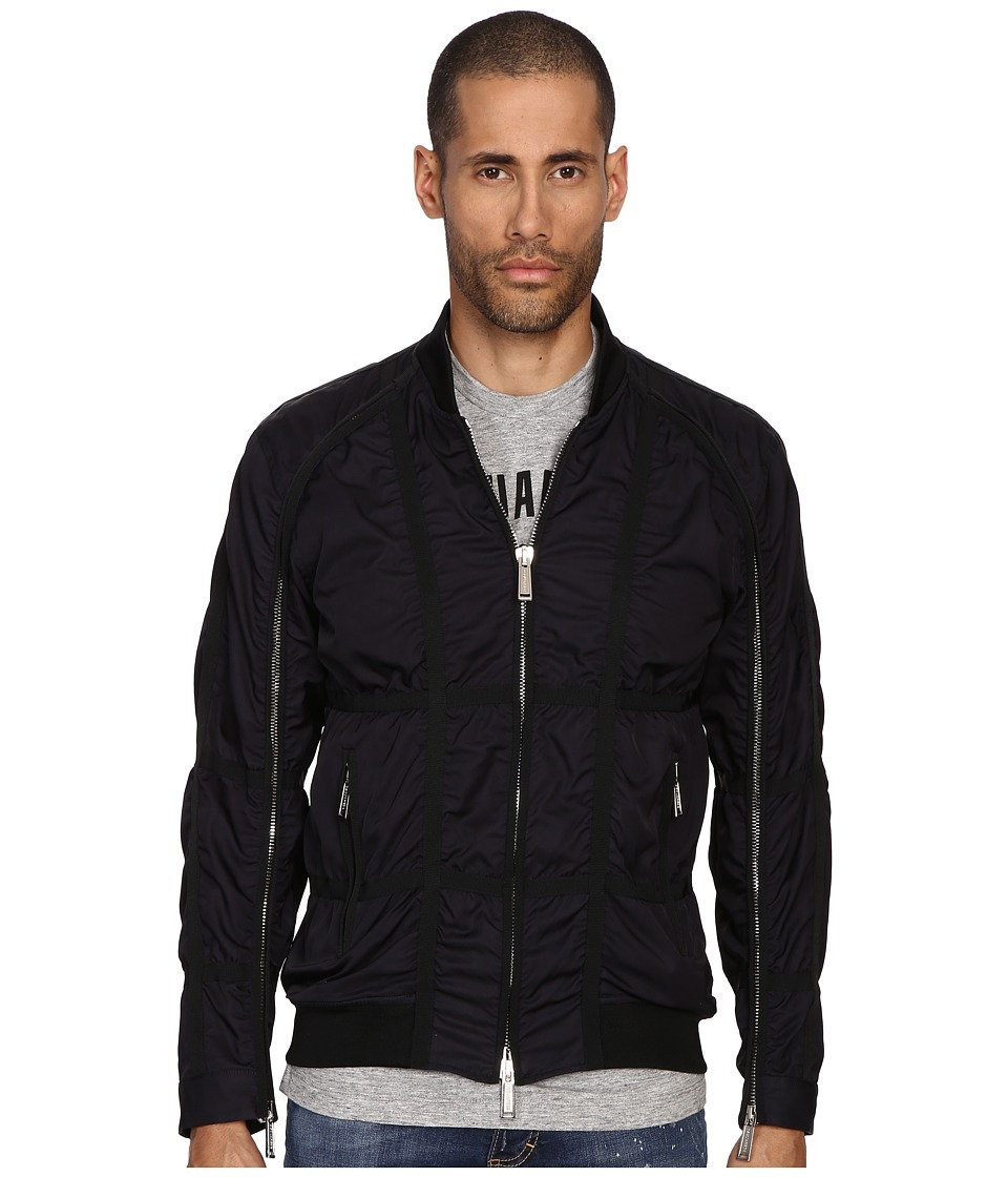 DSQUARED2 - Parachute Bomber (Navy/Blue) Men's Coat