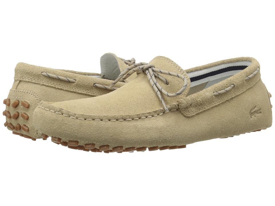 Lacoste - Concours Lace 216 1 (Tan) Men's Shoes