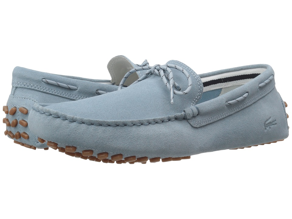 Lacoste - Concours Lace 216 1 (Light Blue) Men's Shoes