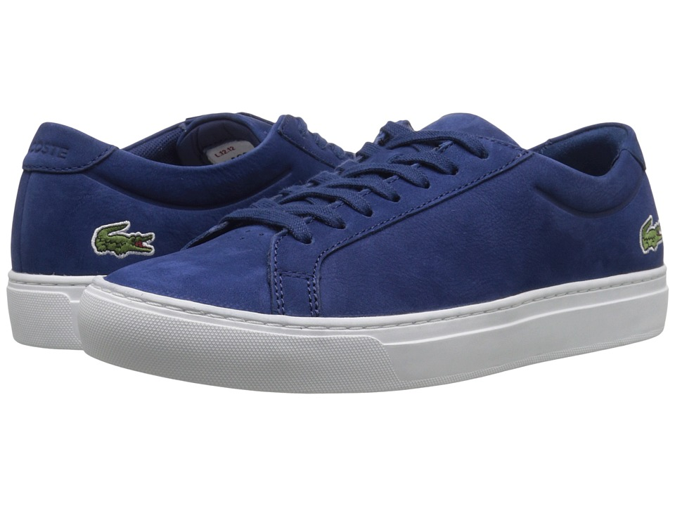 Lacoste - L.12.12 216 1 (Dark Blue) Men's Lace up casual Shoes