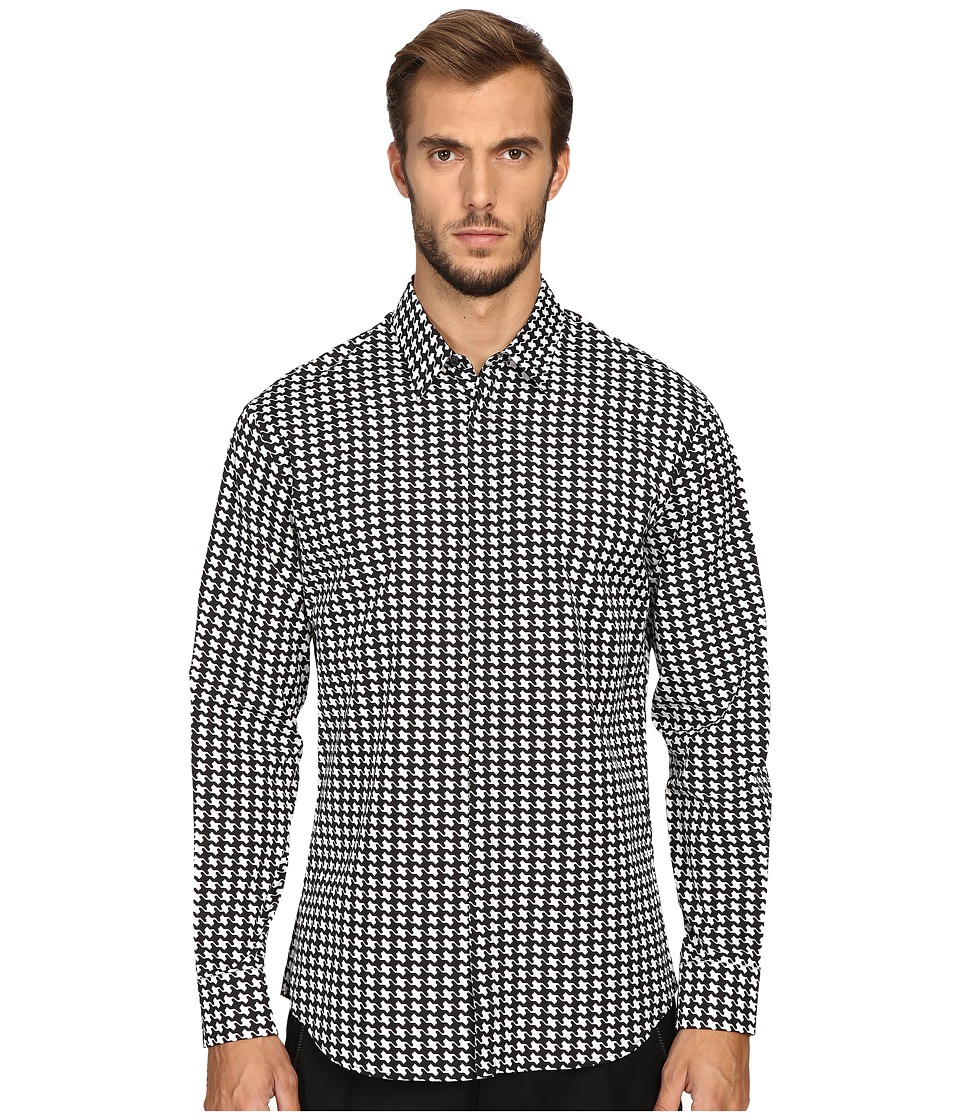 DSQUARED2 - Relax Dan Babewire Shirt (Black/White) Men's Clothing