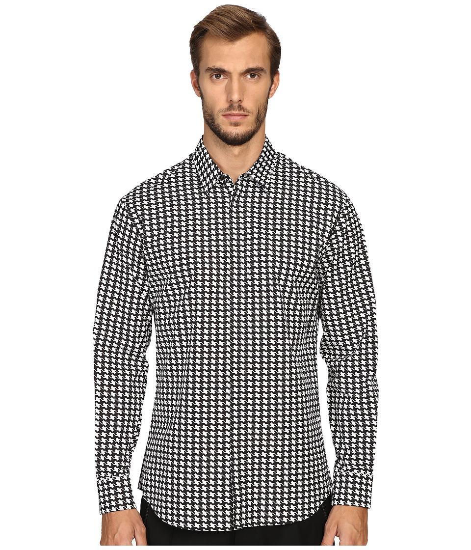 DSQUARED2 - Relax Dan Babewire Shirt (Black/White) Men's Clothing