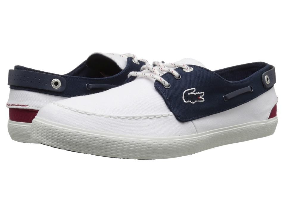 Lacoste Sumac 216 2 (White/Navy) Men