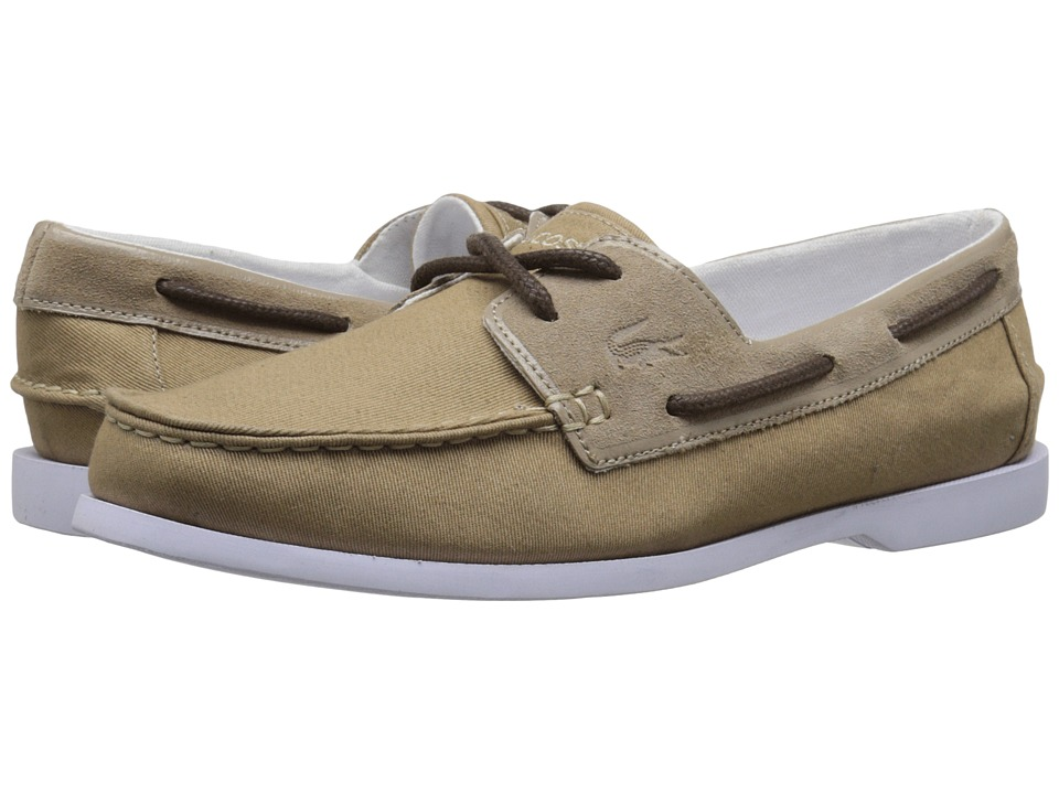 Lacoste - Navire Casual 216 1 (Light Tan) Men's Shoes