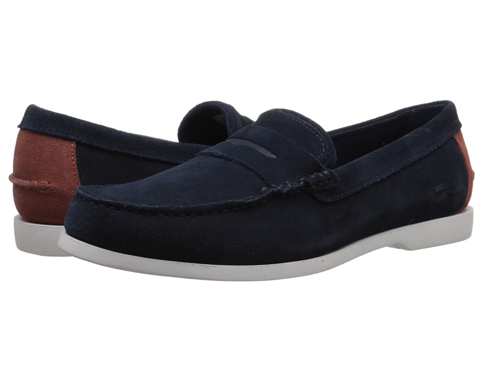Lacoste - Navire Penny 216 1 (Navy) Men's Shoes