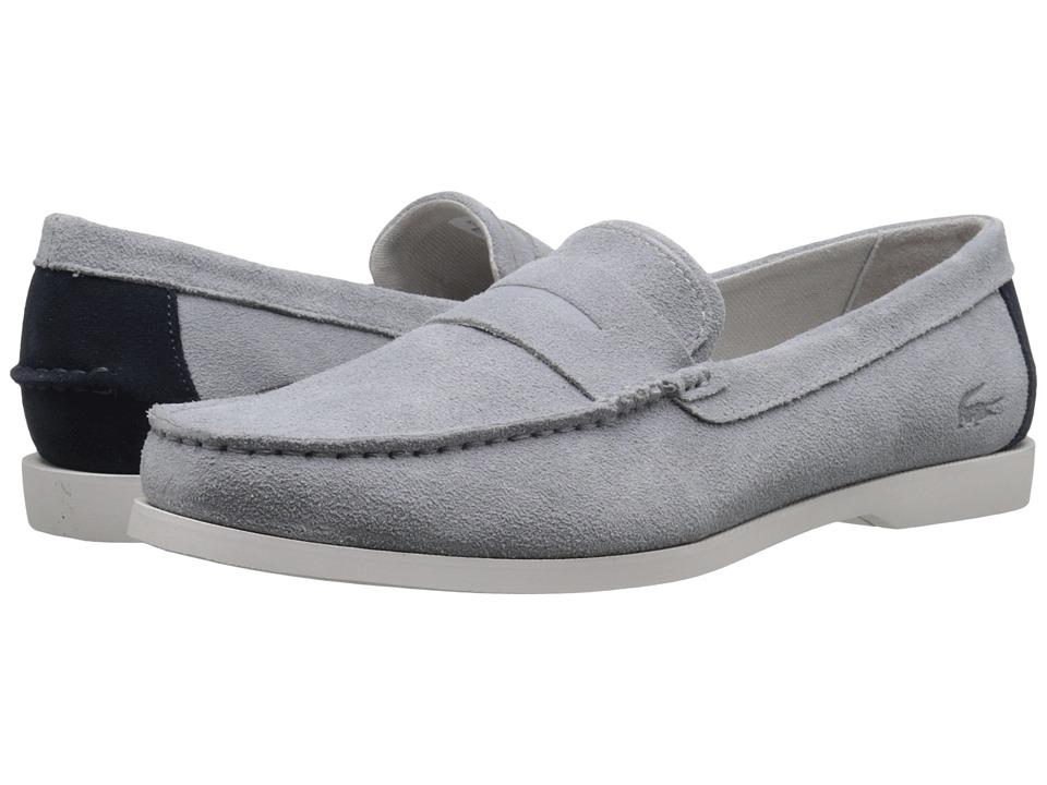 Lacoste - Navire Penny 216 1 (Light Grey) Men's Shoes