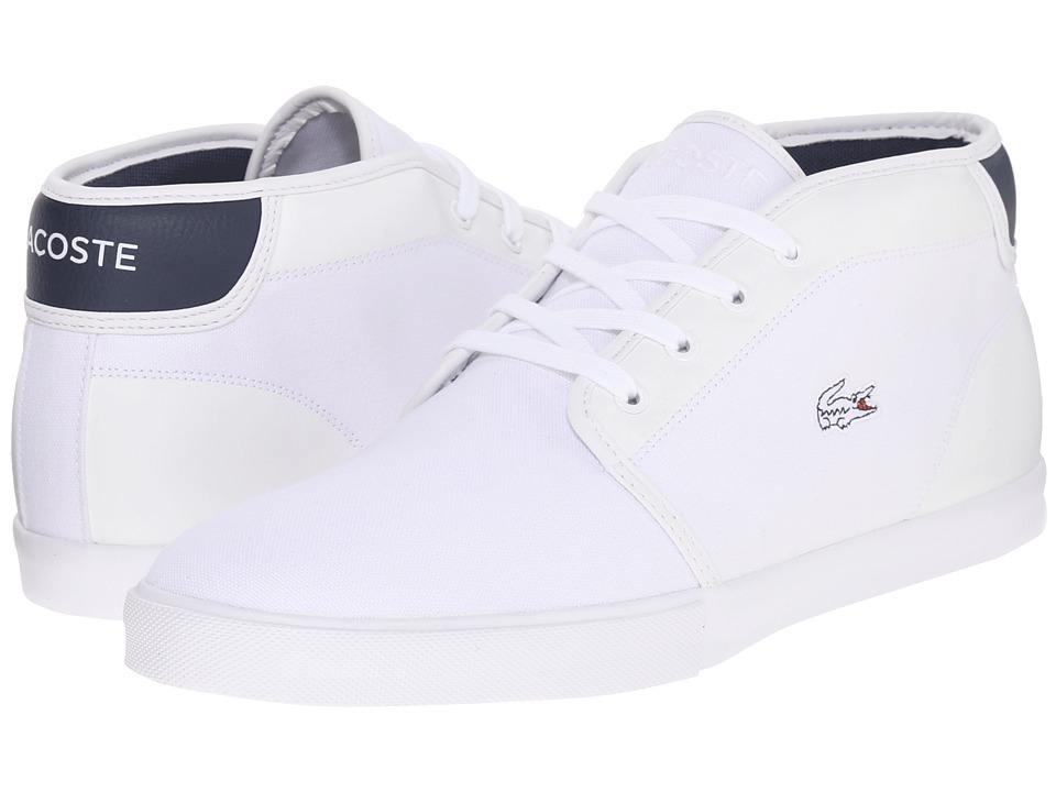 Lacoste Ampthill 216 1 (White/Navy) Men