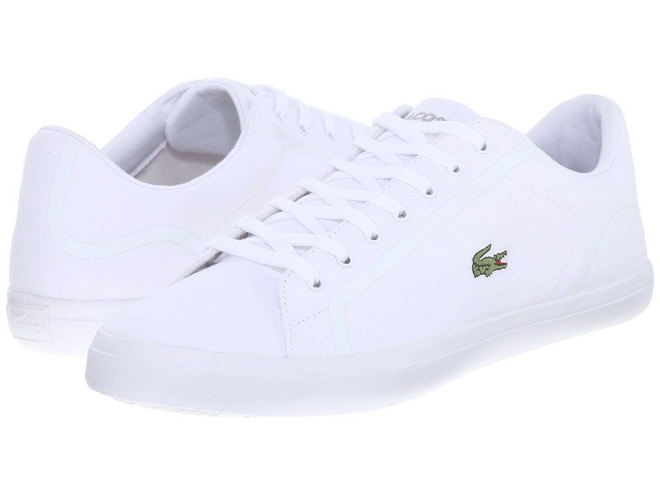Lacoste - Lerond 216 1 (White) Men's Shoes