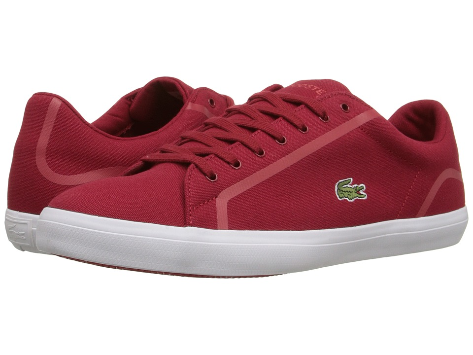 Lacoste - Lerond 216 1 (Red) Men's Shoes