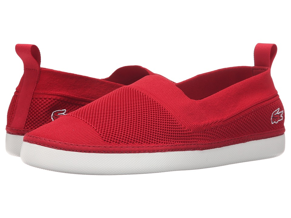 Lacoste - L.YDRO 216 1 (Red) Men's Slip on Shoes