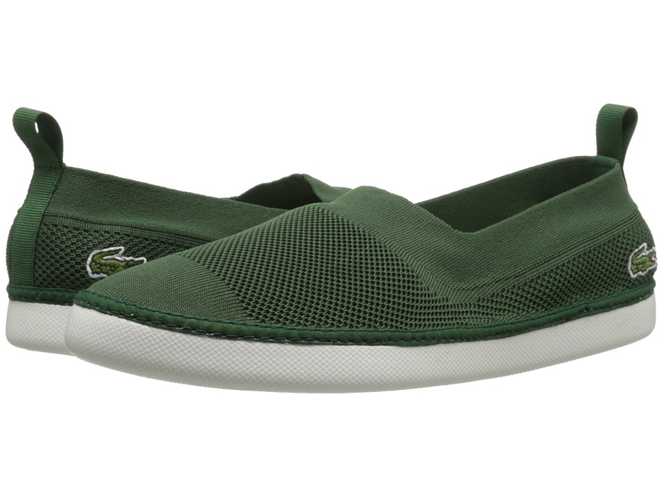 Lacoste - L.YDRO 216 1 (Dark Green) Men's Slip on Shoes