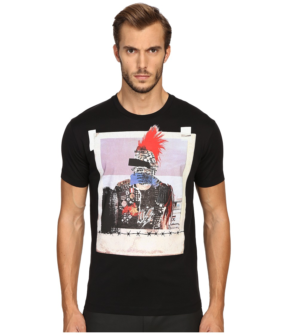 DSQUARED2 Chic Dan Fit Jersey T-Shirt (Black) Men