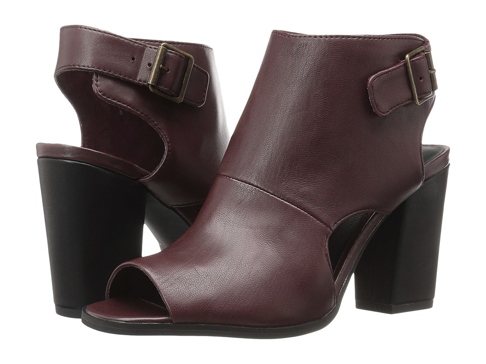 Seychelles Battery (Oxblood) High Heels