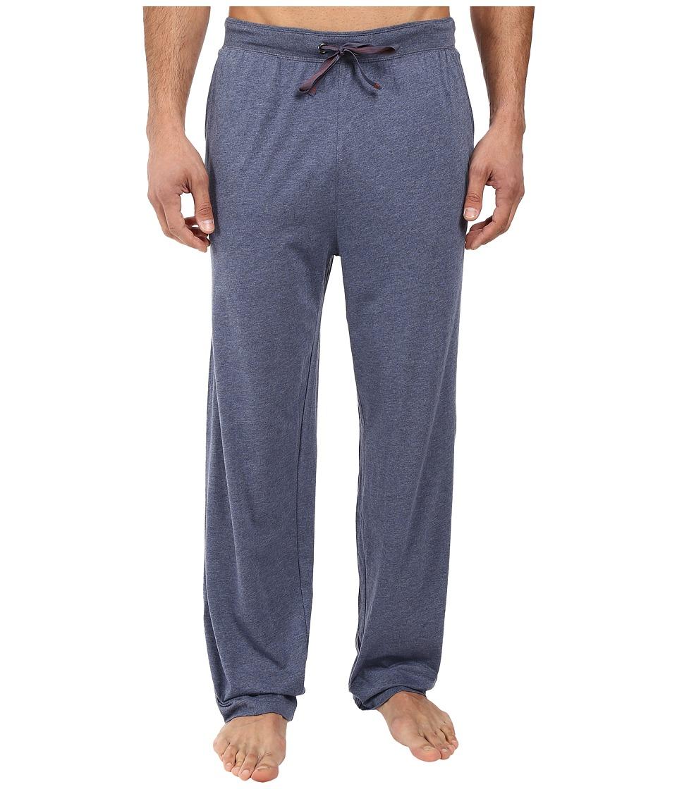Tommy Bahama - Heather Cotton Modal Pants (Navy Heather) Men's Pajama