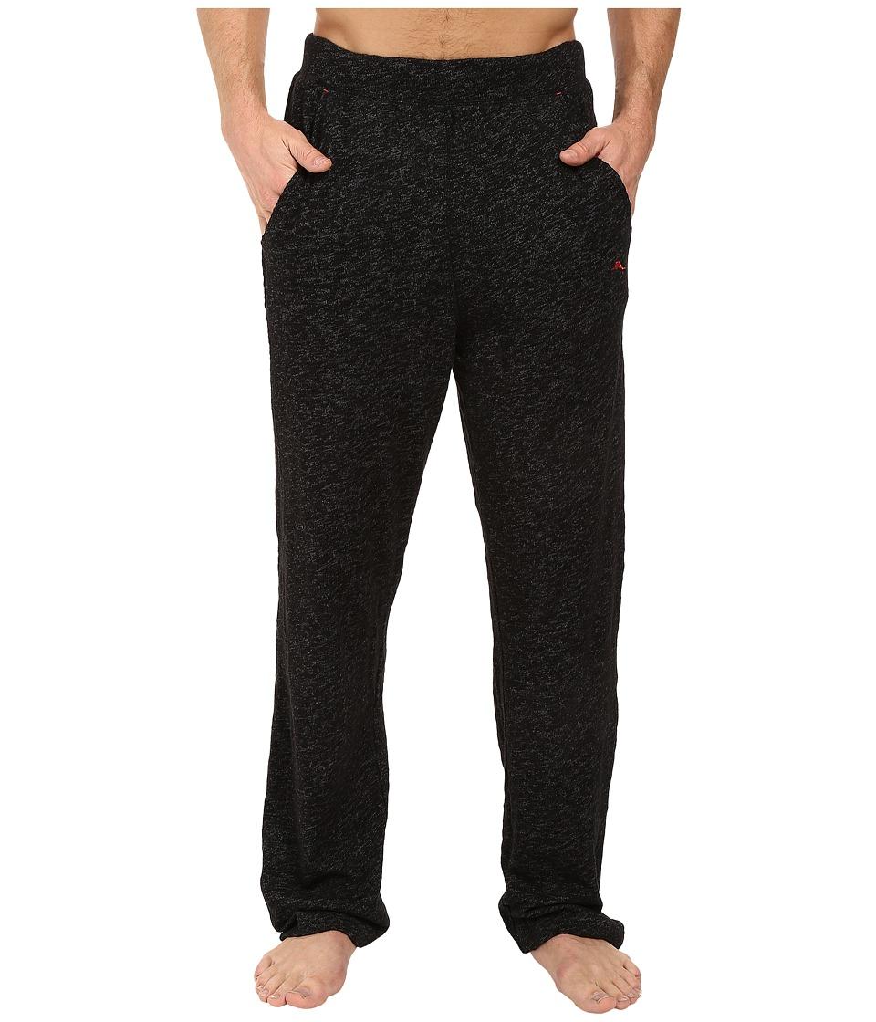 Tommy Bahama - Slub Knit Pants (Black/Coal) Men's Pajama