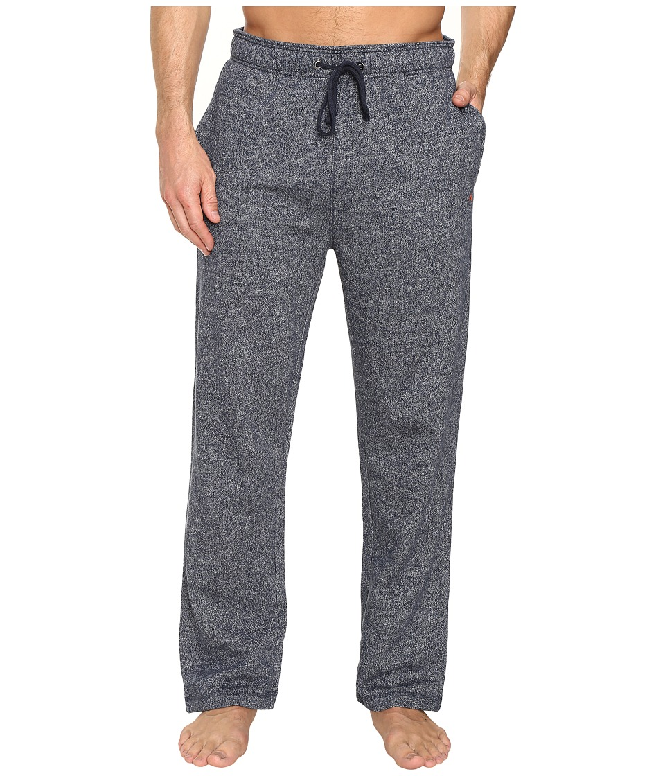 Tommy Bahama - Brush Back French Terry Pants (Flecked Navy) Men's Pajama