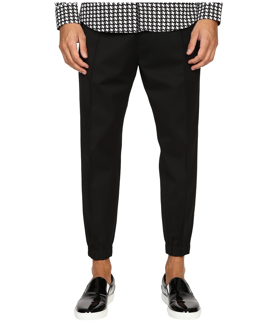 DSQUARED2 - Vintage Jogging Pants (Black) Men's Casual Pants