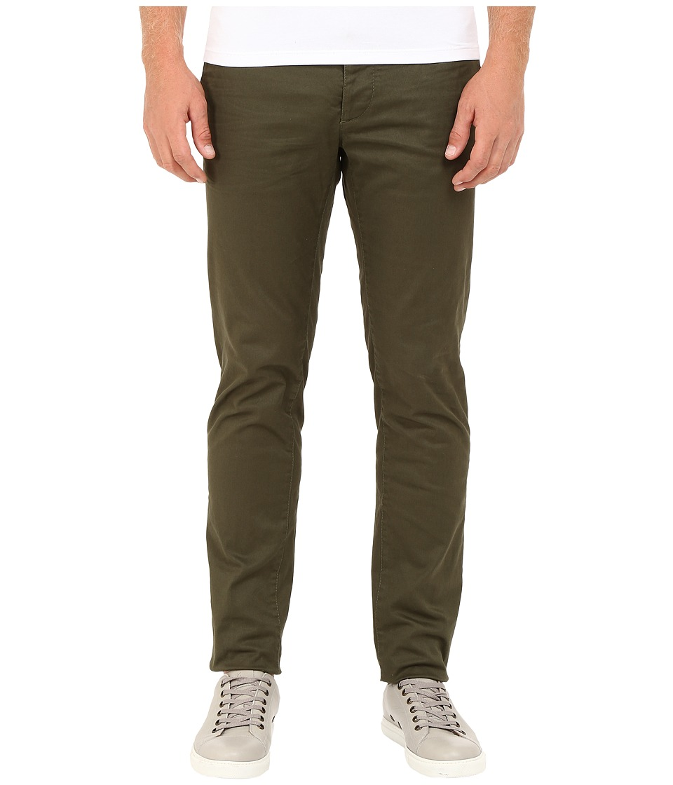 DSQUARED2 - Stretch Cotton Tokyo Pants (Green) Men's Casual Pants