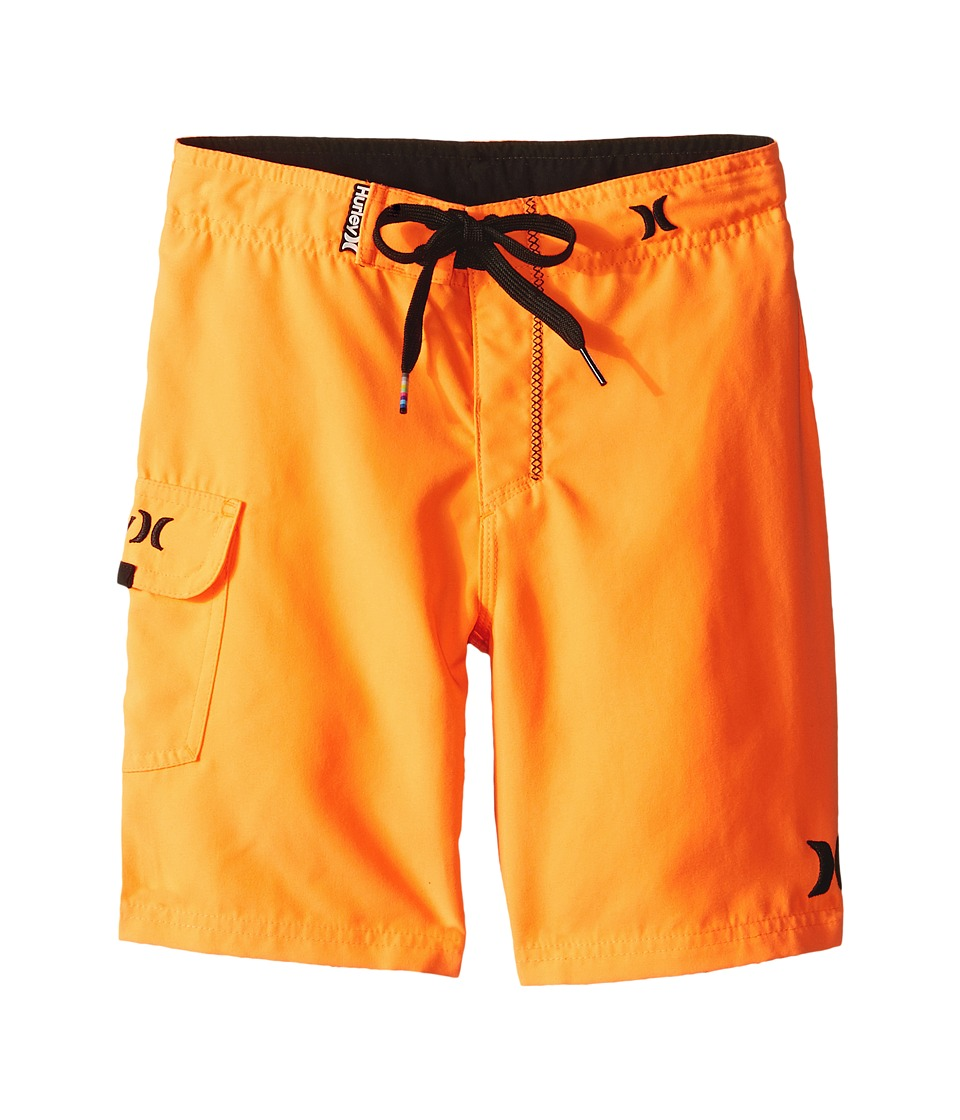 Hurley Kids - One Only Boardshorts (Little Kids) (Total Orange) Boy's Swimwear