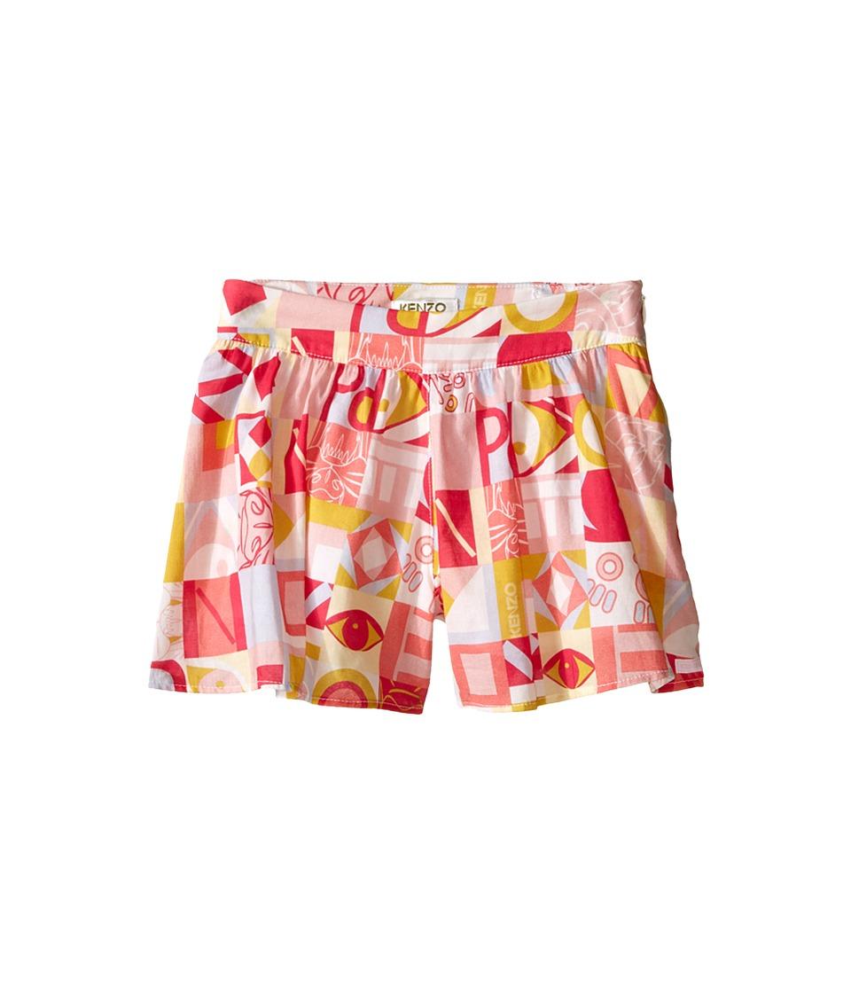 Kenzo Kids - Cubism Skort (Toddler) (Light Pink) Girl's Skort