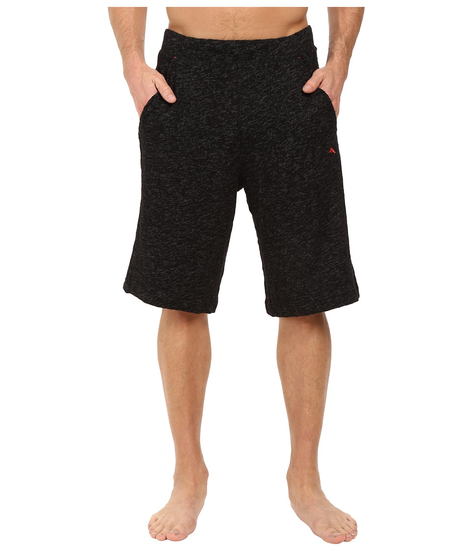 Tommy Bahama - Slub Knit Jam Shorts (Black/Coal) Men's Pajama