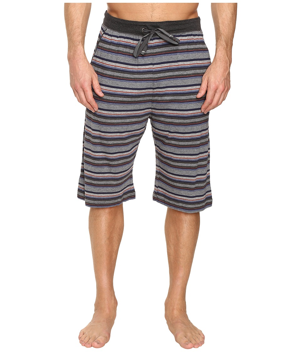 Tommy Bahama - Yarn-Dye Cotton Modal Jersey Jam Shorts (Sail Striped Heather Multi) Men's Pajama
