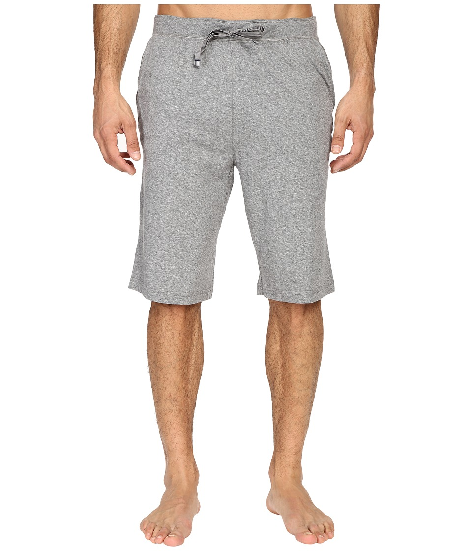 Tommy Bahama - Heather Cotton Modal Jersey Jam (Heather Grey) Men's Pajama