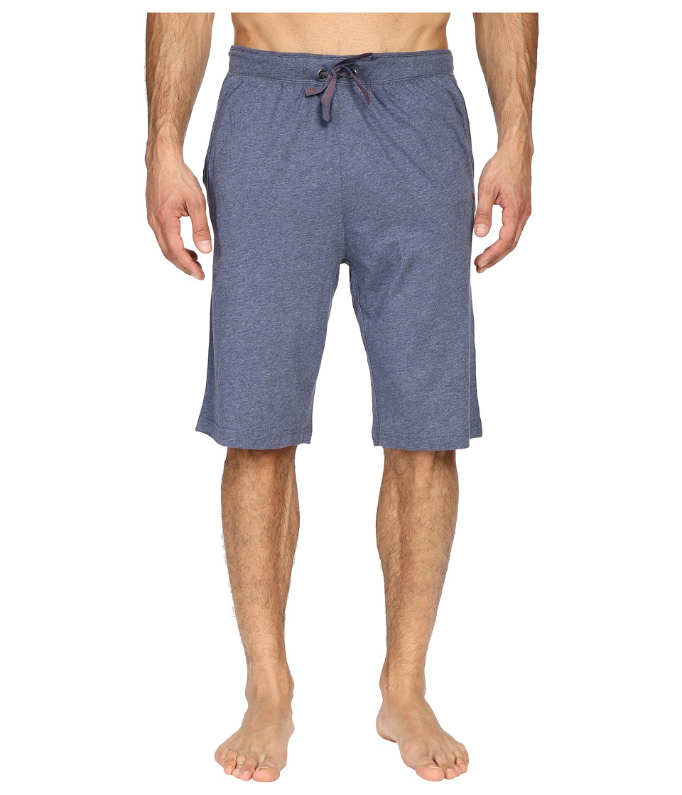 Tommy Bahama - Heather Cotton Modal Jersey Jam (Navy Heather) Men's Pajama
