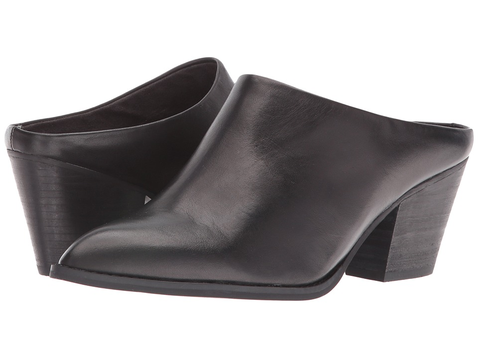 Seychelles - Intrigue (Black Leather) Women's Shoes
