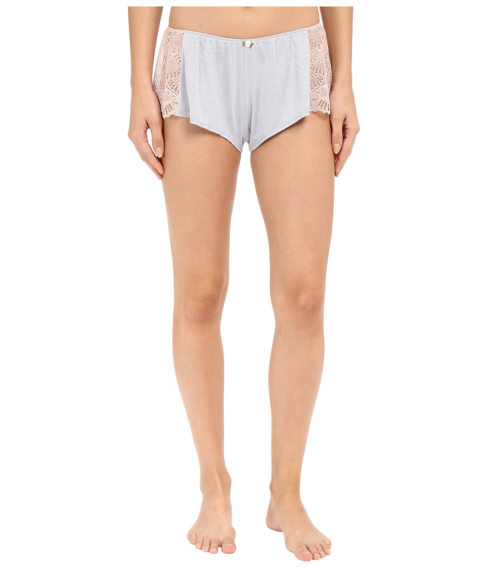 Only Hearts - Venice Hipster w/ Lace Inset (Silver/Petal) Women's Underwear