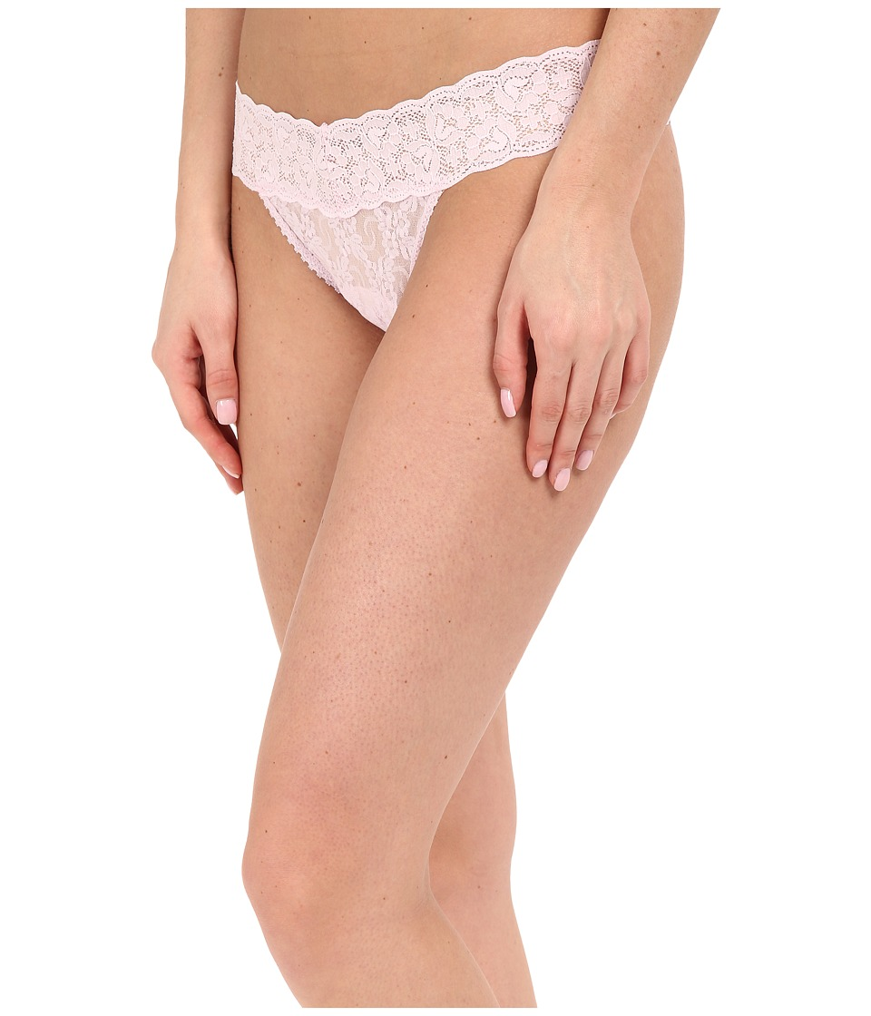Only Hearts - Stretch Lace Must Have Low Rise Thong (Cherry Blossom) Women's Underwear