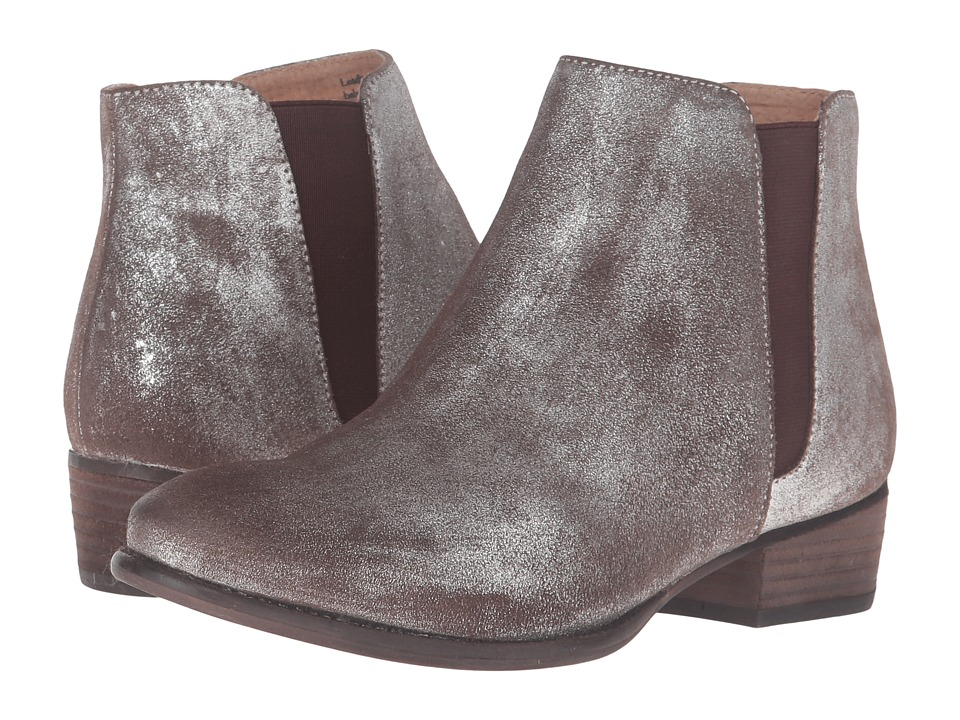 Seychelles Wake (Pewter Metallic Suede) Women