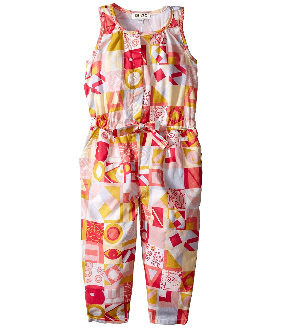 Kenzo Kids - Kenzo Romper (Toddler) (Light Pink) Girl's Jumpsuit & Rompers One Piece