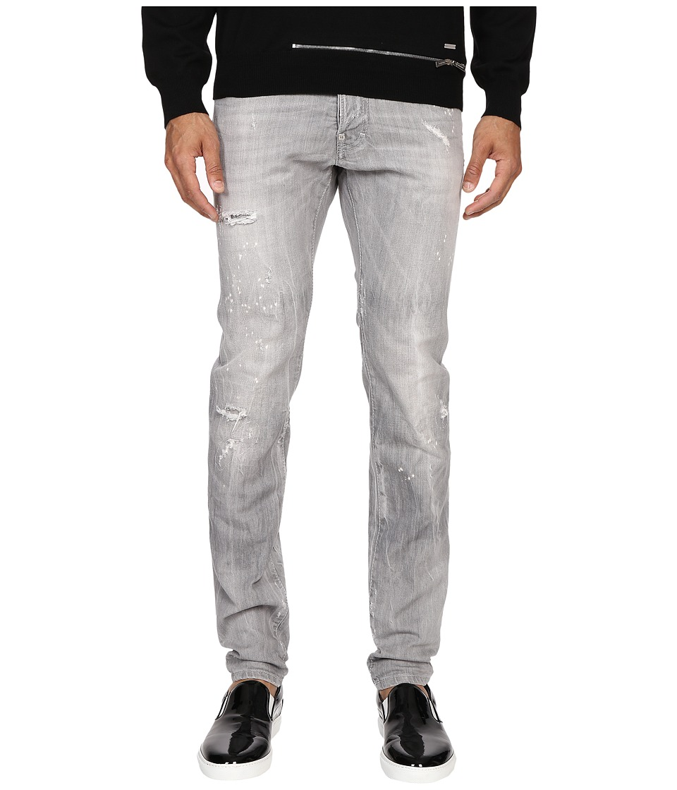 DSQUARED2 - Five-Pocket Cool Guy Jeans in Grey (Grey) Men's Jeans