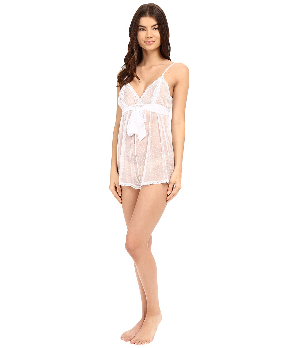 Only Hearts - Coucou Lola Teddy (White) Women's Jumpsuit & Rompers One Piece