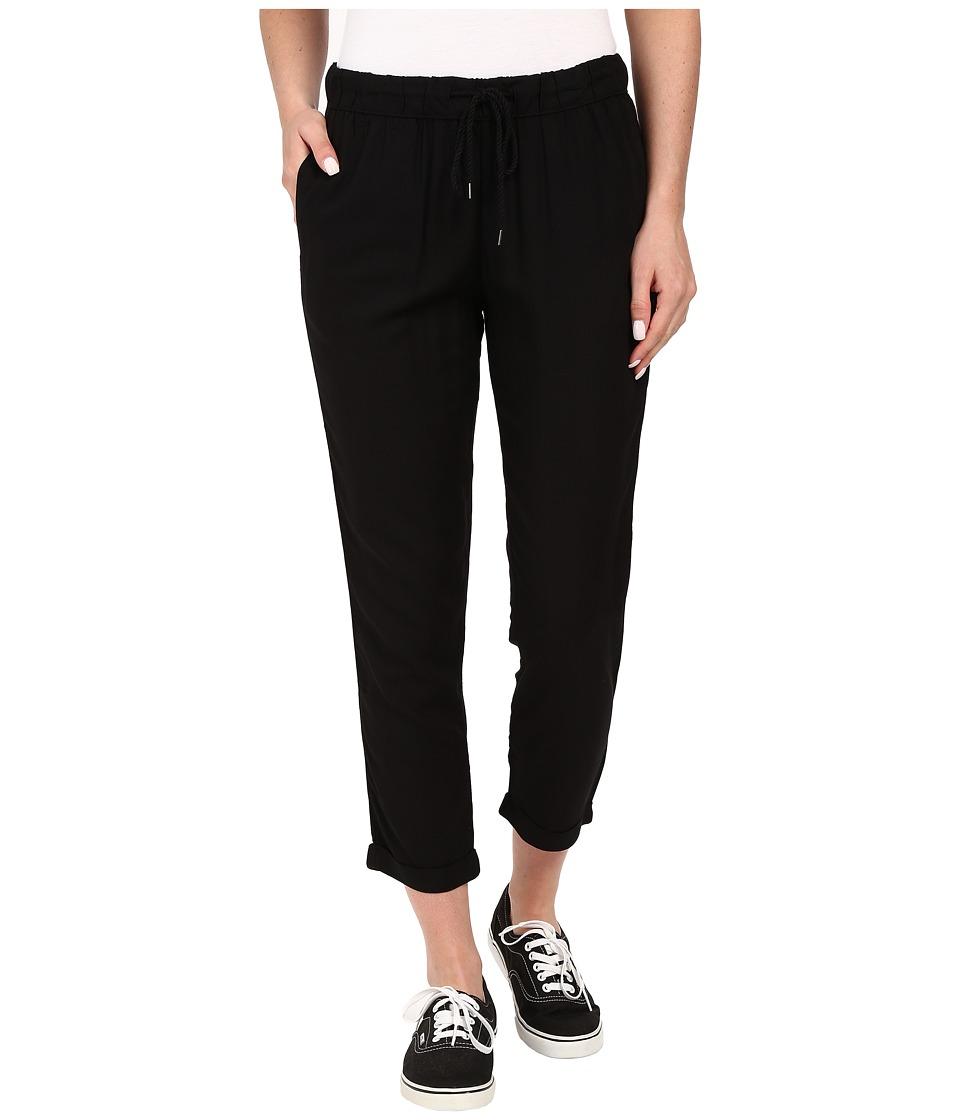 Vans - Europa Pants (Solid Black) Women's Casual Pants