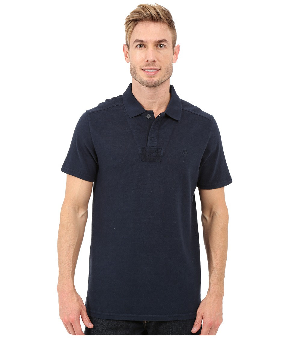 Timberland - Great Brook Slub Polo (Dark Sapphire) Men's Clothing