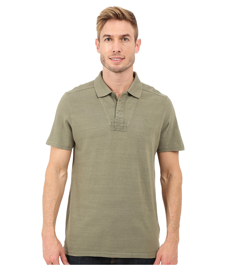 Timberland - Great Brook Slub Polo (Cassel Earth) Men's Clothing