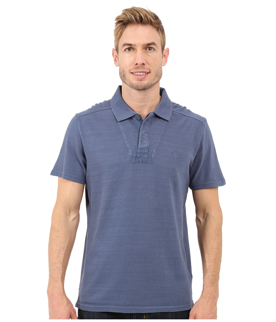 Timberland - Great Brook Slub Polo (Vintage Indigo) Men's Clothing
