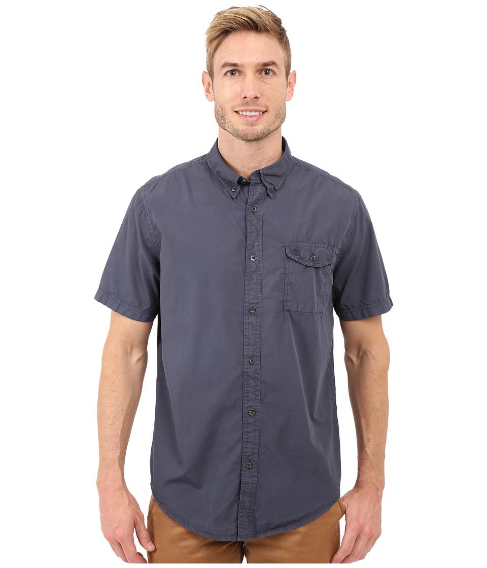 Timberland - Allendale River Saltscrub Poplin Shirt (Dark Sapphire) Men's Clothing