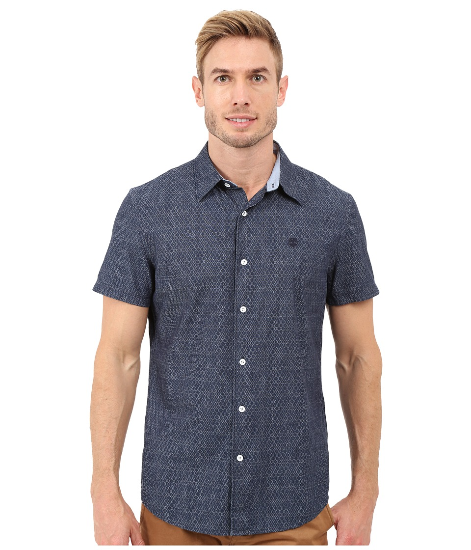Timberland - Parker River Indigo Shirt (Light Indigo Print) Men's Clothing