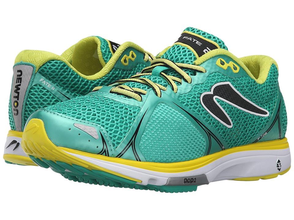 Newton Running - Fate II (Green/Yellow) Women's Running Shoes