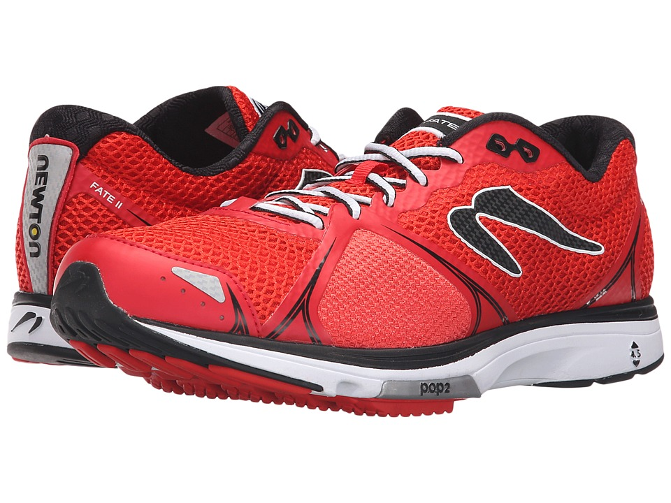 Newton Running - Fate II (Red/Black) Men's Running Shoes