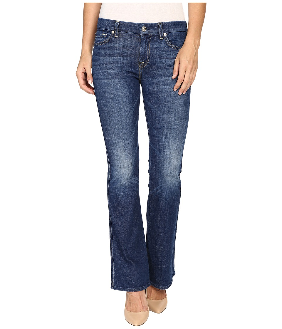 7 For All Mankind - Tailorless A Pocket with Tonal A in Castle Rhodes (Castle Rhodes) Women's Jeans