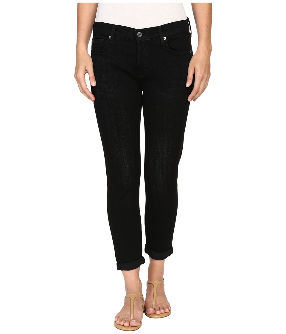 7 For All Mankind - Josefina in Black Sands Broken Twill (Black Sands Broken Twill) Women's Jeans