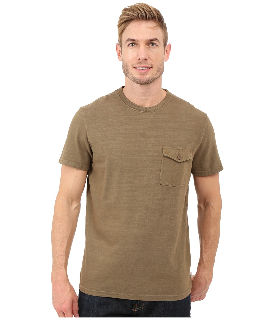 Timberland - Essential Slub Pocket T-Shirt (Shitake) Men's T Shirt